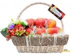 Giỏ trái cây đẹp tặng vợ kỷ niệm ngày cưới