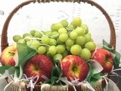 Đặt mua giỏ trái cây 20/10 nhập khẩu cao cấp, giá tốt TPHCM