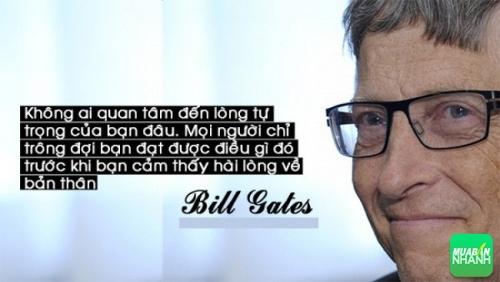 Tỉ phú Bill Gates và những câu danh ngôn tạo thành động lực cho niềm đam mê